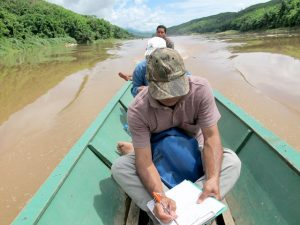 Fish conservation zone survey in Lao PDR